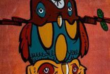 Original Lebo Canvas Work