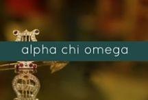 AXO / Alpha Chi Omega Sorority.
