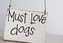 Dogs are a girl's best friend too!  / by Deb Brenner