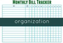 Organization / Top tips to help you become more organized.