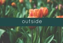 outside / ideas and inspiration for the perfect yard.