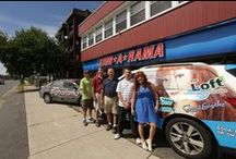 Best Vehicle Wraps Worth The Drive from Ct or Nh / Designing a vehicle wrap for advertising takes time.  I am an experienced photographer and have a semi-professional background in graphics.   Signarama of West Springfield, Mass is an excellent choice for all of your graphic needs.  Thank you to them from http://www.theloftsalonstudio.com