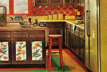 I Dream of a 70s Kitchen / The tricked out 70s kitchen of my wildest dreams.
