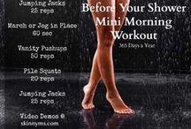 Gettin' Fit - Mini Workouts / by Jessica McK