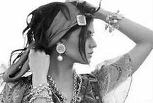 Gypsy Living / Sometimes I wish I lived in an Airstream Homemade curtains, lived just like a gypsy Break a heart, roll out of town 'Cause gypsies never get tied down / by Brooke ☽ ⊕ ☼ ॐ Hampton