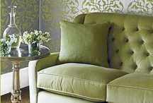Glorious Green / All things green in and around your home