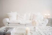 White on White / White interiors