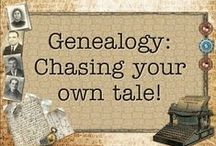 Diggin' Up Bones ♫♫ (Genealogy) / Hints on how to research and preserve your family history / by Jessica McK