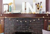 Thanksgiving & Fall Decorating / by Kristen Burnett