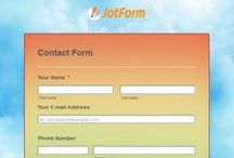 Contact Forms / Various contact form styles from our users & team. / by JotForm