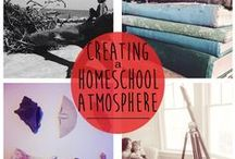 An Atmosphere | Homeschool Spaces / Charlotte Mason Inspired homeschool rooms and spaces and touches of beauty and truth