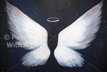 Canvas Art - Angels / by Mamalou's Gems
