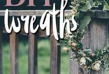 Wreaths / DIY Wreaths and other door decor.  IF YOU'D LIKE TO BE ADDED AS A CONTRIBUTOR to this group board please first be sure you are following all my boards, then send me a message with the board name and I'll add you within 24 hours! Please Only add relevant material to this board or you will be deleted.  Happy pinning!