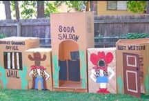 Cowboy Kids Camp Ideas / Cowboy themed ideas that would work for a large group of kids. / by Jessica Morris