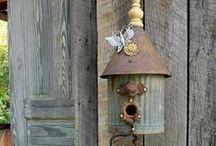 Birdhouses :) / by Cathy Sahlfeld