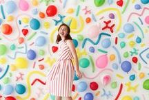 Photo Backdrop Ideas / Ideas for photo backdrops for events!