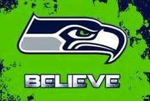 SEAHAWKS / 12TH MAN FUN / by Linda Offutt