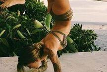 Leila's yoga branding