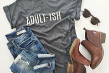 Graphic tees for grown ups / Graphic tee style inspiration