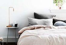 Unimposing nightstands