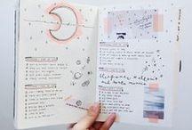 bullet journal / Bullet journal, bullet journaling, bujo, journal, planner, art journal, diary