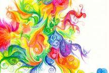 Happy Colors / by Dawn Jones - Artist