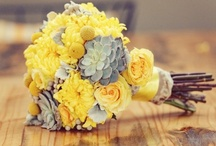 Grey and Yellow Wedding / Playful and stunning shades of yellow and gray. / by Idojour