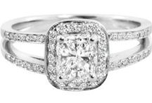 Vintage Engagement Rings / A selection of our vintage-style rings.