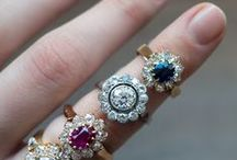 Vintage Rings / Vintage and antique engagement rings from the Victorian, Edwardian, and Art Deco eras.