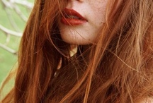 A lil bit Red / Sigh...I do miss being a Red head! Maybe it's time to go over to the fiery side of the force...
