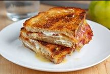 Grilled Cheesus / i would like to dedicate this board of cheesy delishness to Dre!!!!!! / by Bethany B