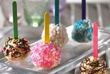 Pops / cake pops, pie pops, push up pops anything sweet on a stick / by Bethany B
