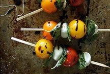 Appys-Cold-On a Stick / Appetizers of the cold variety served on skewers, sticks, kabobs, toothpicks  / by Bethany B