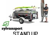 Stand Up Paddleboards - SUP / The GO and GO Easy are the perfect transporter for SUPs