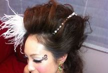 Minogeee / ''Minogeee'' Big hair arrangement
