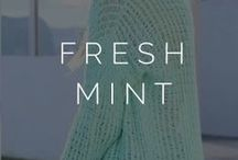 ||fresh mint|| / minty. color. fashion. / by Styled  by K A S E Y