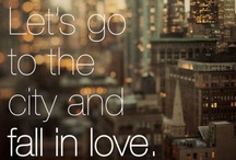 Let's go to the city and fall in love...