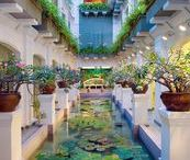 Travel with QMS / Hotels around the world that are represented by QMS Medicosmetics in their spectacular Hotel Spas.