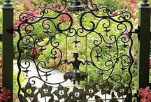 Secret Garden Gates / by Catherine Cassou