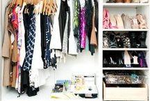 Closet Inspiration / Tons of inspiration for that closet redo!