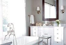 Bathrooms & Bath Ideas / Bathrooms...and decor I may want in them / by Scrapbkr