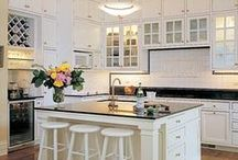 Kitchens & Kitchen Ideas / Kitchens... and decor I may want in them / by Scrapbkr