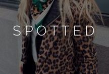 ||spotted|| / animal. print. / by Styled  by K A S E Y