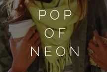 ||pop of neon|| / by Styled  by K A S E Y