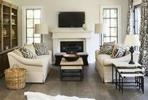 Living & Family Rooms / Living Rooms and Family Rooms...and Ideas for Both / by Scrapbkr