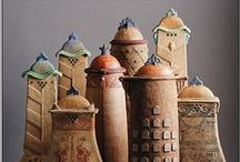 clay - Lidded Jars and Containers / by Cathy Francis
