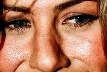 Celebrity's Close Up Photo.