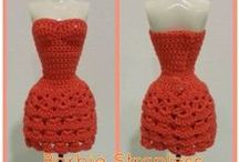 Crochet & Knit Doll Clothes