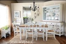 Dining Rooms & Ideas / Dining Rooms...and decor I may want in them / by Scrapbkr