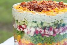 Seasonal Salads / Fabulous  healthy Salads and Dressings From All Over The Internet